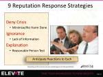 9 reputation response strategies