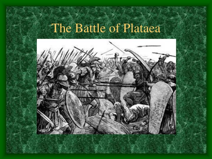 The Battle of Plataea