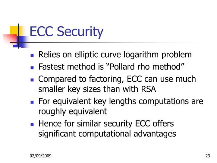 ECC Security