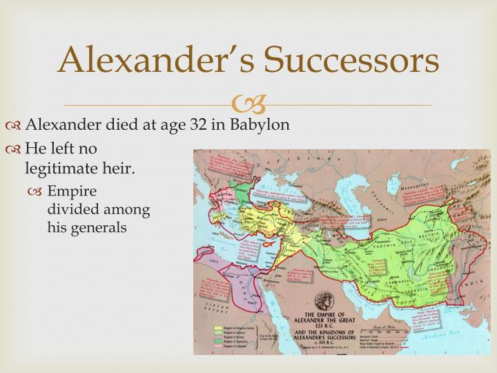 Alexander's Successors