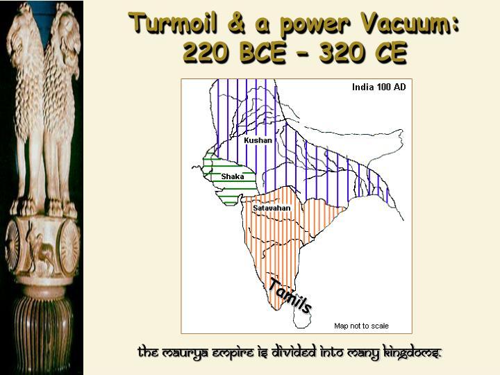 Turmoil & a power Vacuum: