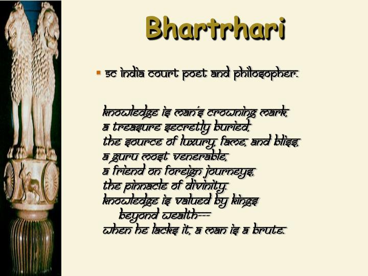 Bhartrhari