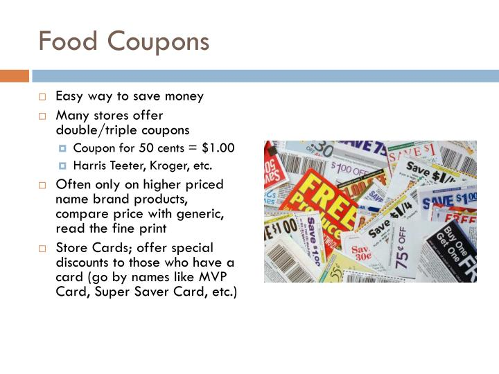 Food Coupons