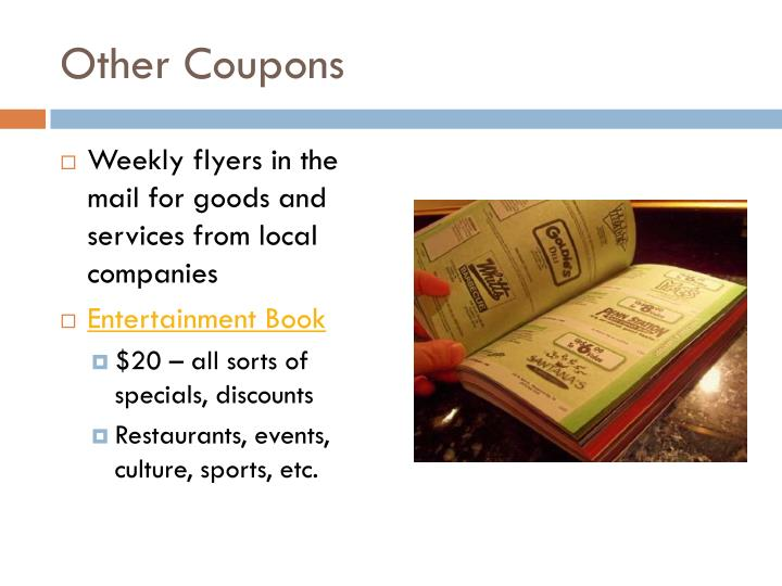 Other Coupons