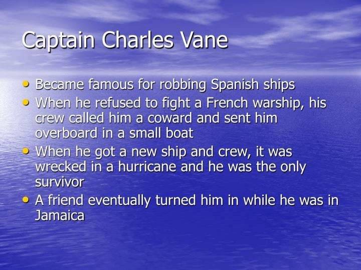 Captain Charles Vane