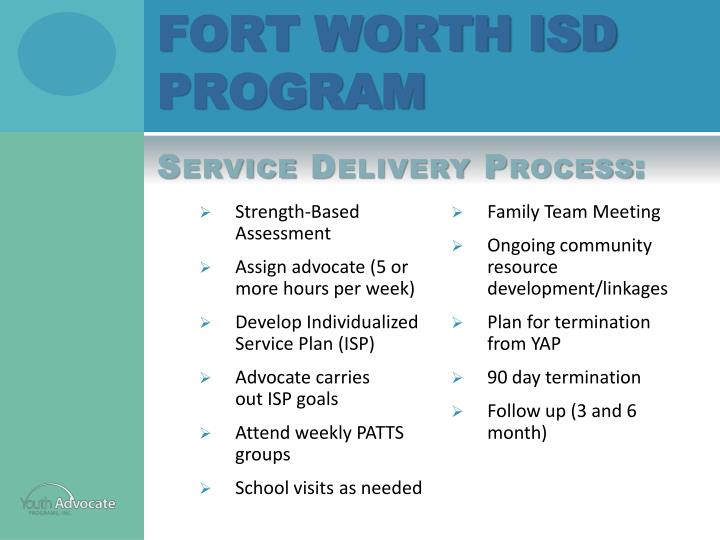 Fort Worth ISD program