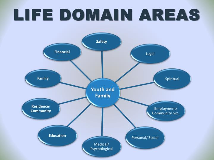LIFE DOMAIN AREAS