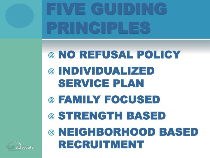 Five Guiding Principles
