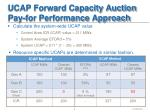 ucap forward capacity auction pay for performance approach