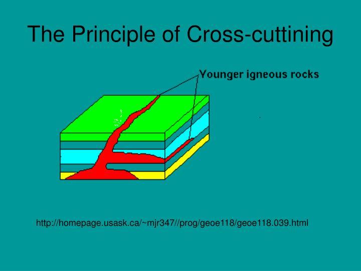 The Principle of Cross-cuttining