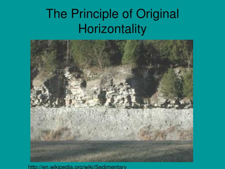 The Principle of Original Horizontality