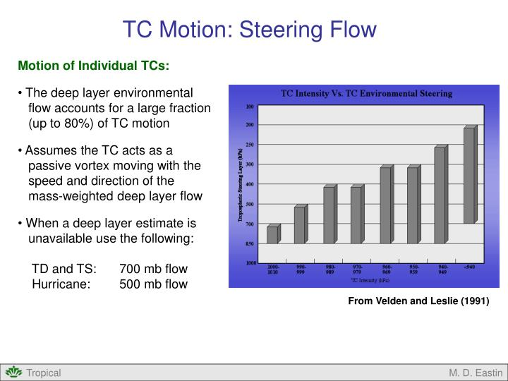TC Motion: Steering Flow
