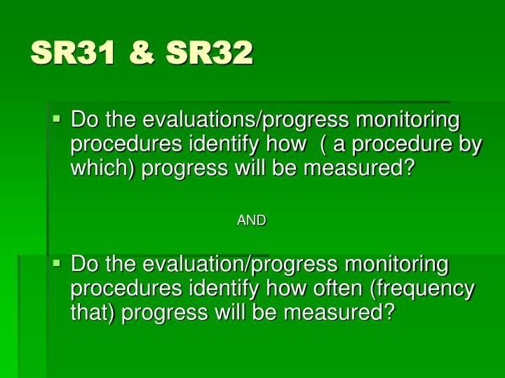SR31 & SR32