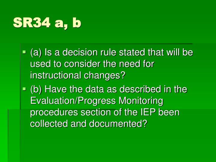 SR34 a, b