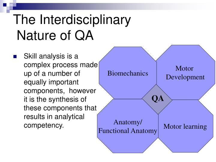The Interdisciplinary