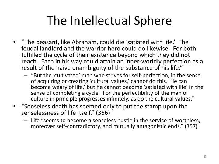 The Intellectual Sphere
