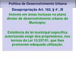 pol tica de desenvolvimento urbano3