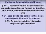 pol tica de desenvolvimento urbano6