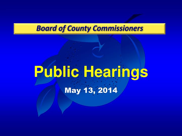 Board of County Commissioners