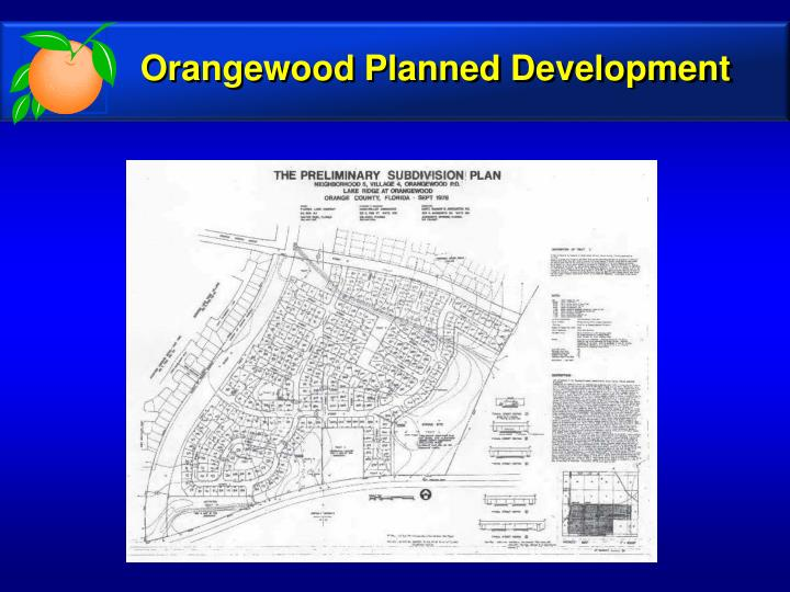 Orangewood Planned Development