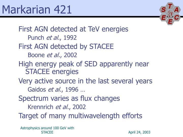 Markarian 421