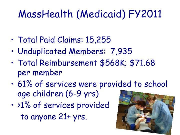 MassHealth (Medicaid) FY2011