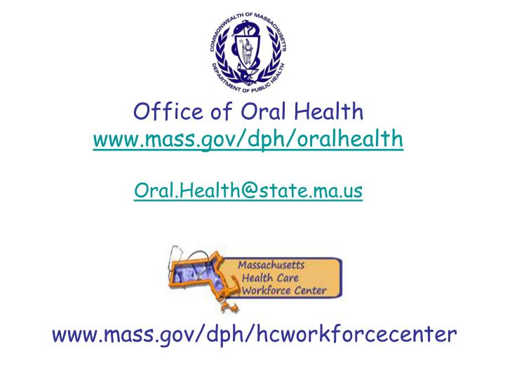 Office of Oral Health