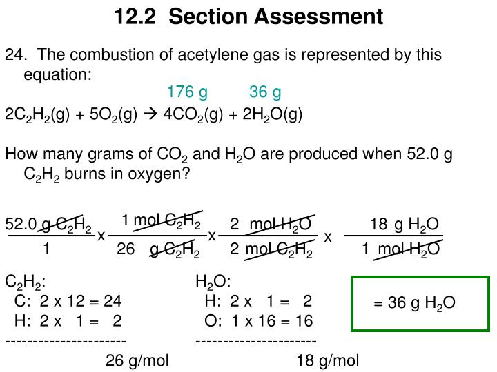 12.2  Section Assessment
