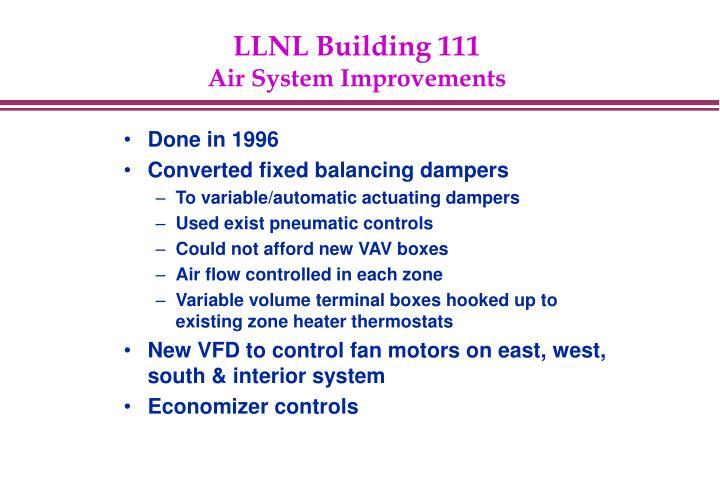 LLNL Building 111