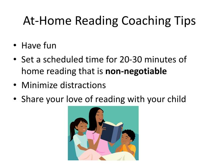 At-Home Reading Coaching Tips