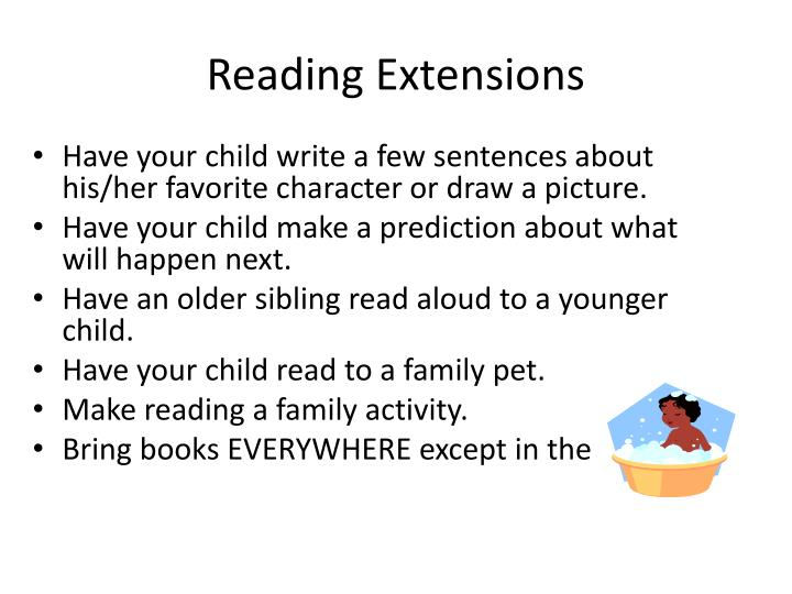 Reading Extensions