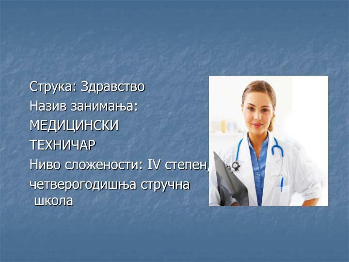 Струка: Здравство
