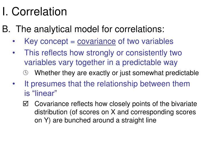 I. Correlation