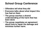 school group conference