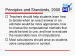 principles and standards 2000