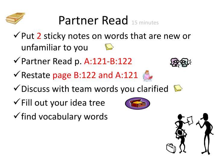 Partner Read