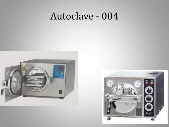 Autoclave - 004