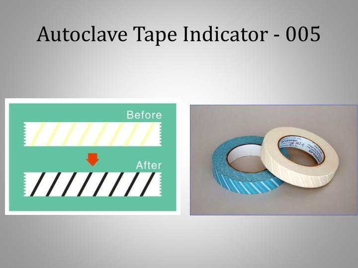 Autoclave Tape Indicator - 005