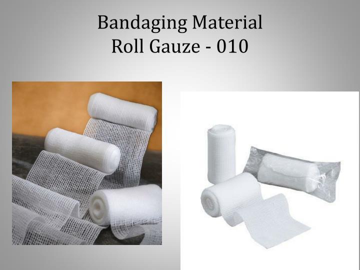 Bandaging Material