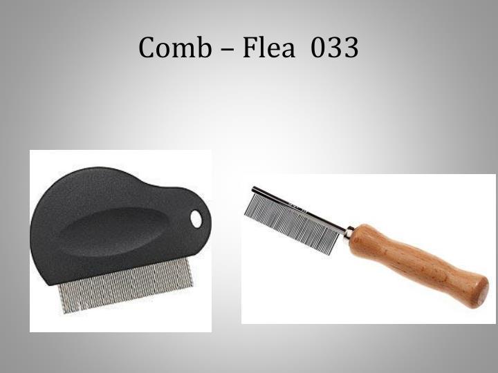 Comb – Flea  033