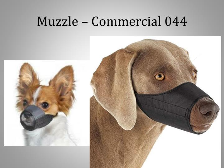 Muzzle – Commercial 044