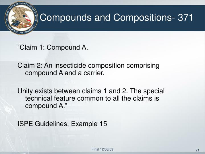 Compounds and Compositions- 371