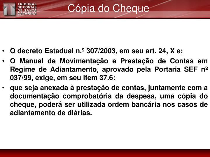 Cópia do Cheque