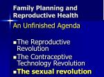 family planning and reproductive health4