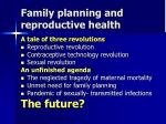 family planning and reproductive health6