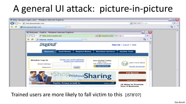 A general UI attack:  picture-in-picture