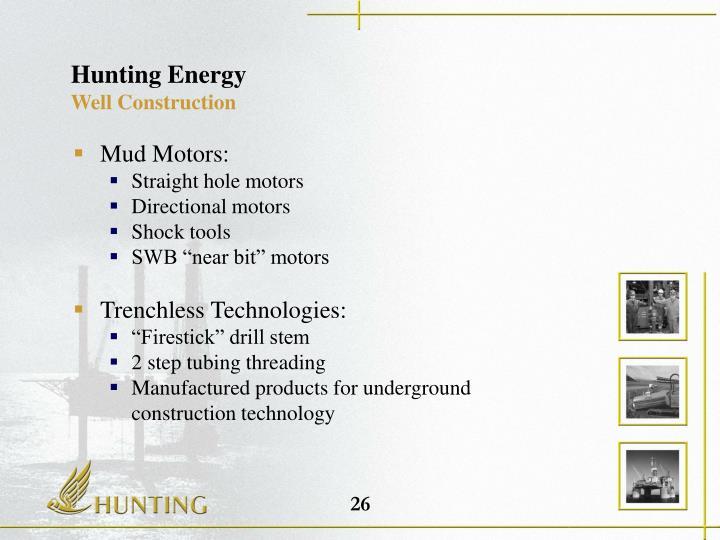 Hunting Energy