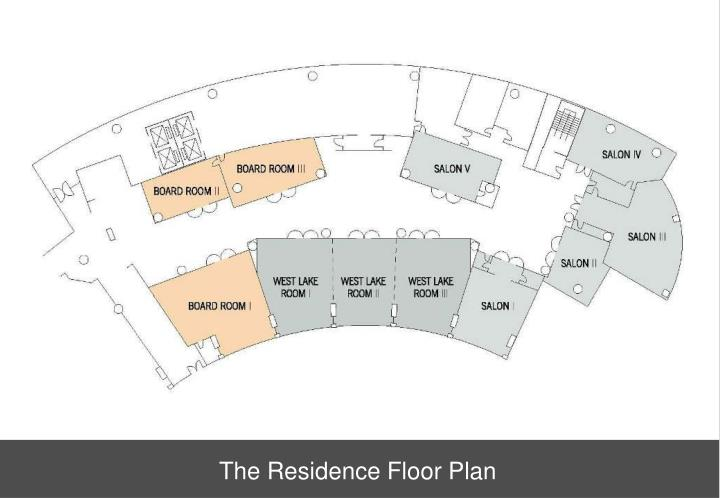 The Residence Floor Plan