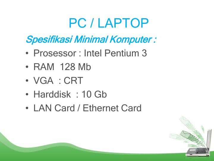PC / LAPTOP