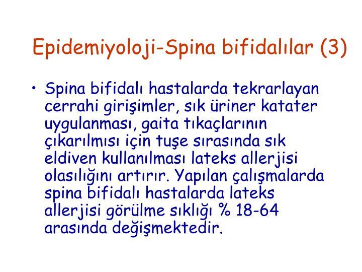 Epidemiyoloji-Spina bifidalılar (3)